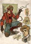 Spider Man version Steampunk